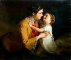 Peinture de Samuel Baruch Halle (français, 1824-1889) ..