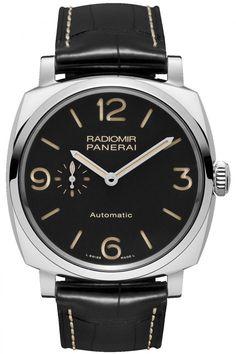 Officine Panerai PAM00572 Radiomir 1940 3 Days Automatic Acciaio -  - швейцарские мужские наручные часы - белые, черные часы