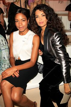 Naomie Harris and Afef Jnifen