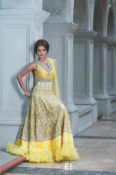 Yellow #salwaar kameez #chudidar #chudidar kameez #anarkali #anarkali suits #dress #indian #outfit #shaadi #bridal #fashion #style #desi #designer #wedding #gorgeous #beautiful