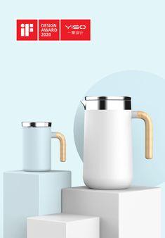 Nordic Minimalist Drinking Set | iF WORLD DESIGN GUIDE Id Design, Graphic Design, Nordic Design, Drinking Water, Kettle, Product Design, Minimalist, Kitchens, Teapot
