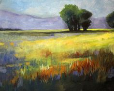 Across the Field Fine Art Reproduction Prints and Posters by Nancy Merkle