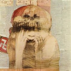 from The Nazi Drawings by Mauricio Lasansky.  Potent, deep, poignant, never to forget.