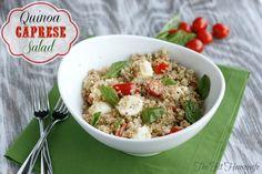 quinoa caprese salad4 picm Quinoa Caprese Salad