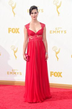 Pin for Later: See Every Star on This Year's Emmys Red Carpet! Morena Baccarin