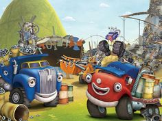 Jack, Dan, Max and Pete - #TruckTown on #Nickelodeon and #TreehouseTV  Go to: http://www.trucktown.com