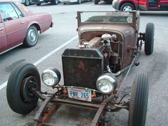 Rusty Rod. But the tires are good!!!