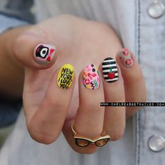 getnail-d:  KSNY x Darcel collection inspired nails. Check out...