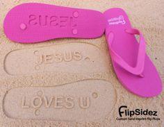 7936246e1 Custom Spiritual Sand Imprint Flip Flops by FlipSideFlipFlops on Wanelo  Best Flip Flops
