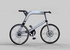 The Audi Electric Bike x Arash Karimi for Eco Transportation #eco #vehicles trendhunter.com