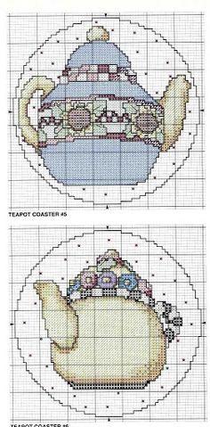 Cross Stitch Pattern Teteras Px - Jhoan2 - Picasa Web Albums