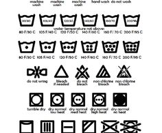 A Guide to Laundry Symbols (Printable Cheat Sheet