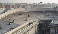Roof top Fiat Lingotto factory Turino