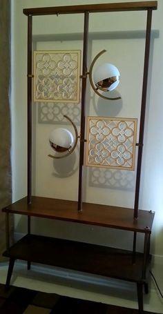 Mid-century modern room divider