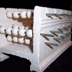 Bead Rack for kiln firing - Bisque Bead Supply- Ceramic Bisque Blanks- Bisque Beads - (Powered by CubeCart)