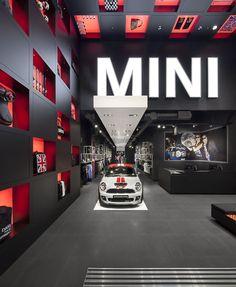 MINI Pop-Up Store London Westfield by studio 38