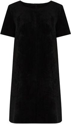Velvet by Graham & Spencer Reya faux-suede dress