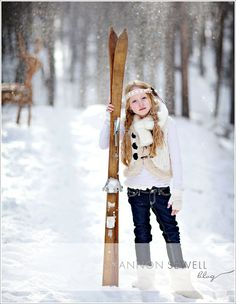 winter outfit with a fur vest