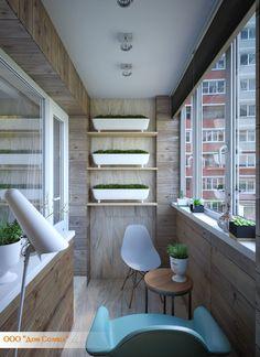 Портфолио лоджии, балконы