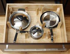 Adjustable Cookware Storage