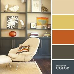 20 Beautiful Color Combinations For Your Home Interior Color Schemes, Colour Schemes, Color Combinations, Interior Design, Color Balance, Color Harmony, Room Colors, House Colors, Color Concept
