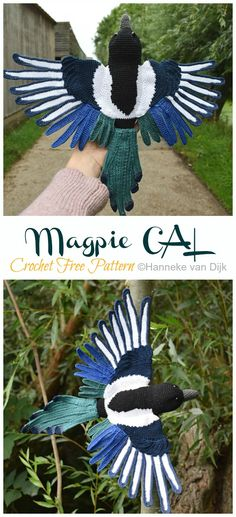 Crochet Parrot, Peacock Crochet, Crochet Bird Patterns, Pokemon Crochet Pattern, Animal Knitting Patterns, Crochet Birds, Crochet Amigurumi Free Patterns, Cute Crochet, Crochet Dolls