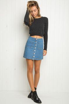 Brandy ♥ Melville | Armelle Skirt - Just In