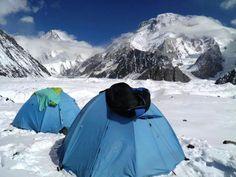 K2 y Broad Peak. Paquistan