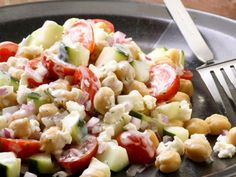 Chickpea Salad  | KitchenDaily.com