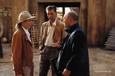 The English Patient - Behind the scenes photo of Kristin Scott Thomas, Ralph Fiennes & Anthony Minghella. The image measures 2934 * 1950 pixels and was added on 1 January The English Patient, Le Patient Anglais, Oscar Movies, Orange Quotes, Kristin Scott Thomas, Safari Chic, Ralph Fiennes, Scene Photo, Great Movies