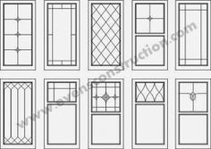 Evens Construction Pvt Ltd: Window designs