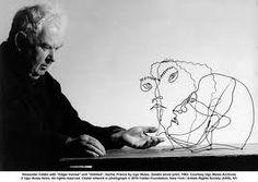 Calder y sus bustos alámbricos