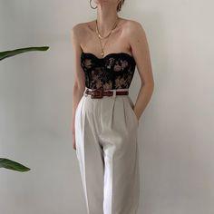 November 08 2019 at fashion-inspo Looks Street Style, Looks Style, Dress Outfits, Fashion Outfits, Womens Fashion, Fashion Tips, Fashion Clothes, Fashion Ideas, Corset Vintage