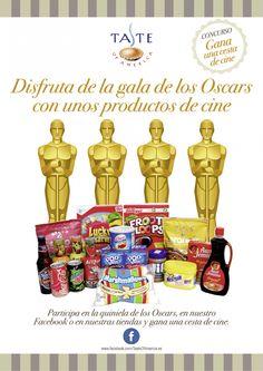Haz tu pronóstico de ganadores a Mejor Película, Mejor Actriz y Mejor Actor y podrás ganar una cesta de productos.