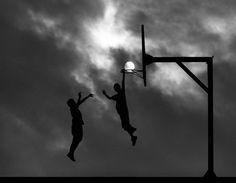 illusion basket avec lune