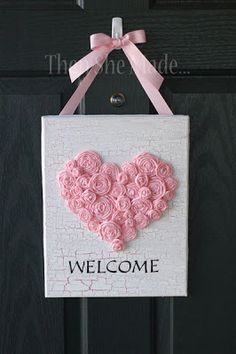 """Hello Lovelies! Welcome back to the weekly round up! Today's collection is all about Valentine's Day Crafts, yay!All of these are super cute (to me!) and I think would be fun and a great addition to any crafting list! 22 Valentine's Day Crafts **Please pin from the original source!** Paper """"Roll-Up"""" Valentine Wreath on Tatertots …"""