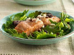 Cinnamon-Maple Glazed Salmon Salad