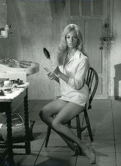 SEXY MICHELE MERCIER SOLEIL NOIR 1966 VINTAGE PHOTO ORIGINAL #2 LEGGY | eBay