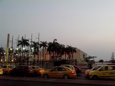 Camellón de los Mártires en frente del Centro de Convenciones Julio Cesar Turbay Ayala