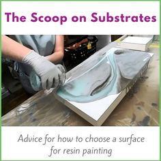 resin painting surfaces