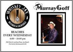 Be sure to catch Murray on the piano at Whiskey Jax - Beaches location. #JaxBeach #JacksonvilleBeach #PonteVedraBeach #LiveMusic