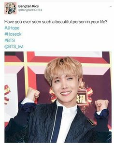 I bet he would look EXTRA FINE if he does his hair like Namjoon's!