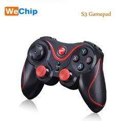 Wallmart.win Gen Game S3 Wireless Bluetooth Gamepad Bluetooth Joystick Gaming Controller for Android Smartphone Holder Receiver to Choose
