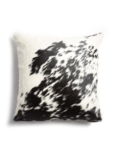 Speckled Hair-on-Hide Pillow by Gilt Home Collection at Gilt