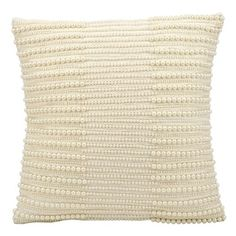 kathy ireland by Nourison Pearl Striped Rectangular Pillow // Accent Pillow