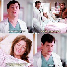 She was so high Greys Anatomy Funny, Grays Anatomy Tv, Grey Anatomy Quotes, Derek Shepherd, Grey's Anatomy Wallpaper, Doctor Shows, Grey's Anatomy Tv Show, Good Kisser, Dark And Twisty
