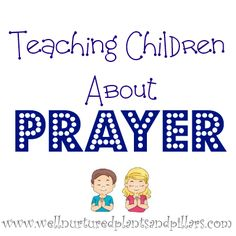 Last year, I was asked to lead a session at our church's womens retreat about teaching children to pray. I was really challenged as I prepared to teach. This can be a daunting subject. It can…