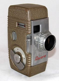 https://flic.kr/p/GTMhXm | Vintage Revere Eight Model Fifty 8mm Movie Camera, Made In USA, Circa 1955