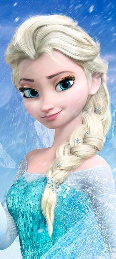 Elsa with no / lighter makeup :)