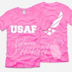 USAF Shirt   SemperSweet.com